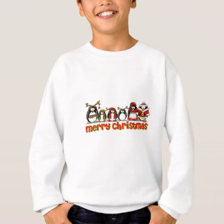 Merry Christmas Penguins Sweatshirt