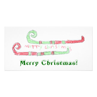 Merry Christmas! Personalized Photo Card