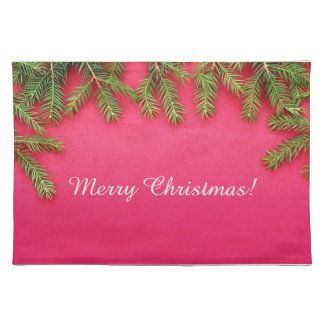 Merry Christmas, personalized various gifts Place Mats