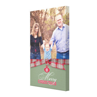 Merry Christmas Photo 8x12 6 Inches Canvas Prints