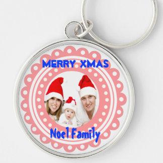Merry Christmas Photo Keychains-Stocking Stuffer