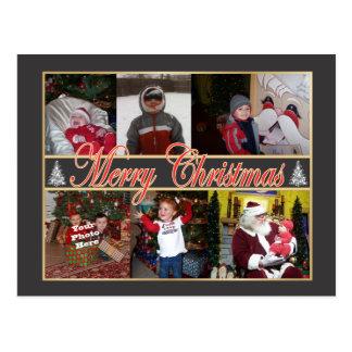 Merry Christmas Photo Postcard