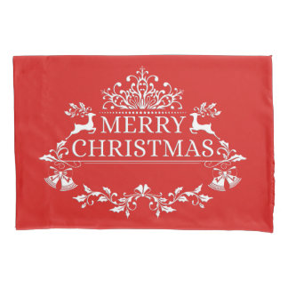 Merry Christmas Pillow Case