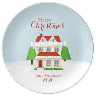 Merry Christmas Plate