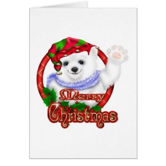 Merry Christmas Polar Bear Greeting Card