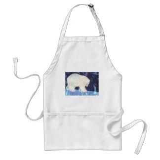Merry Christmas Polar Bear Standard Apron