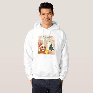 Merry Christmas Poop Emoji Jumper Hoodie