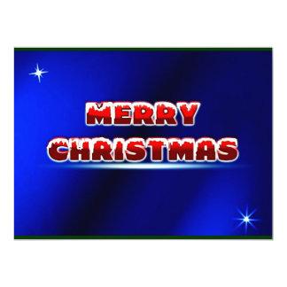Merry Christmas Postage Stamp ~.jpg 17 Cm X 22 Cm Invitation Card