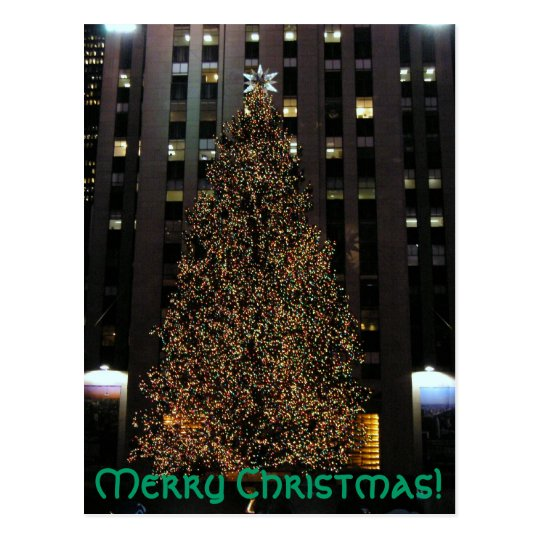 Merry Christmas! postcard