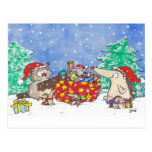 MERRY CHRISTMAS postcard by Nicole Janes