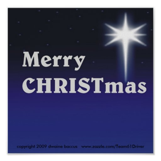 Merry CHRISTmas ! Print