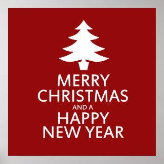 Merry Christmas Posters | Zazzle.co.uk