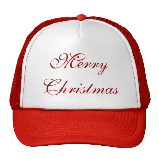 Merry Christmas Red Holiday Xmas Hat