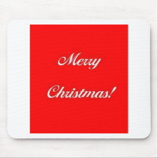 Merry_Christmas_Red Mousepad