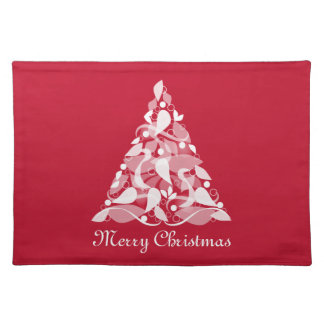 Merry Christmas Red Placemats