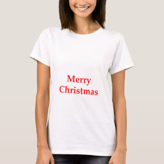 Merry Christmas Red The MUSEUM Zazzle Gifts T-Shirt
