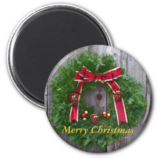 Merry Christmas Refrigerator Magnet Magnets
