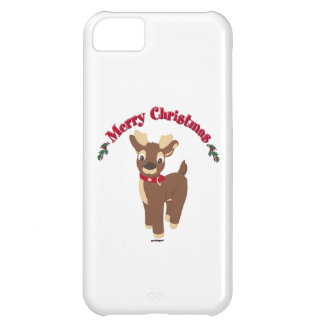 Merry Christmas Reindeer Case For iPhone 5C