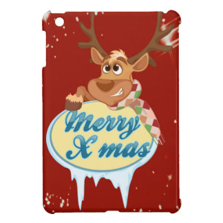 Merry Christmas Reindeer Case For The iPad Mini