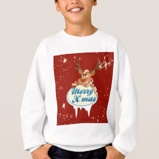 Merry Christmas Reindeer Sweatshirt