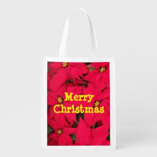 Merry Christmas reusable bag