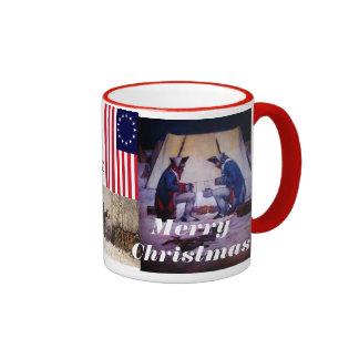 merry christmas ringer mug