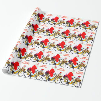 Merry Christmas Santa and Kids Wrapping Paper