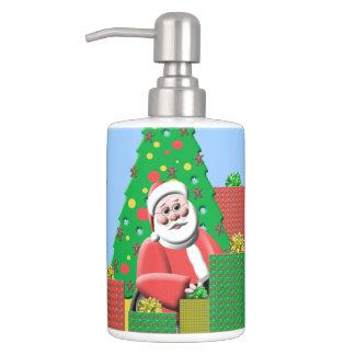 Merry Christmas Santa Claus Bathroom Sets