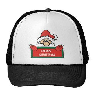 Merry Christmas Santa Claus Cap