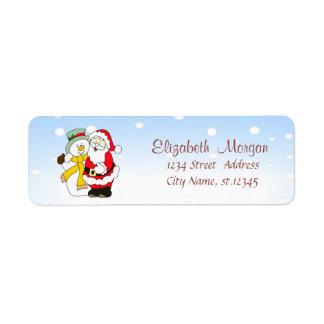 Merry Christmas,Santa Claus,Snowman