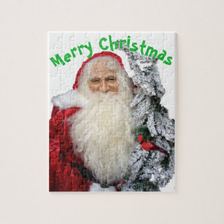Merry Christmas Santa Clause Jigsaw Puzzle