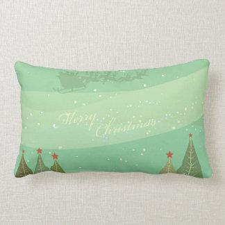 Merry Christmas Santa Clause Lumbar Cushion