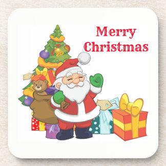 Merry Christmas Santa Coaster