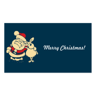 Merry Christmas Santa Pack Of Standard Business Cards