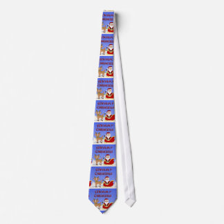 Merry Christmas Santa Tie