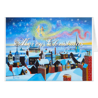 Merry Christmas Scrooge and London Card
