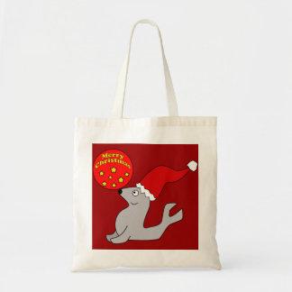 Merry Christmas Seal Bag