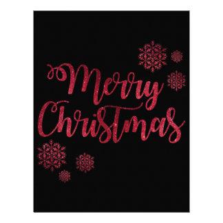 Merry Christmas Season 21.5 Cm X 28 Cm Flyer