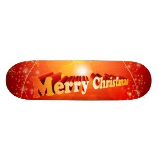 Merry christmas skate boards