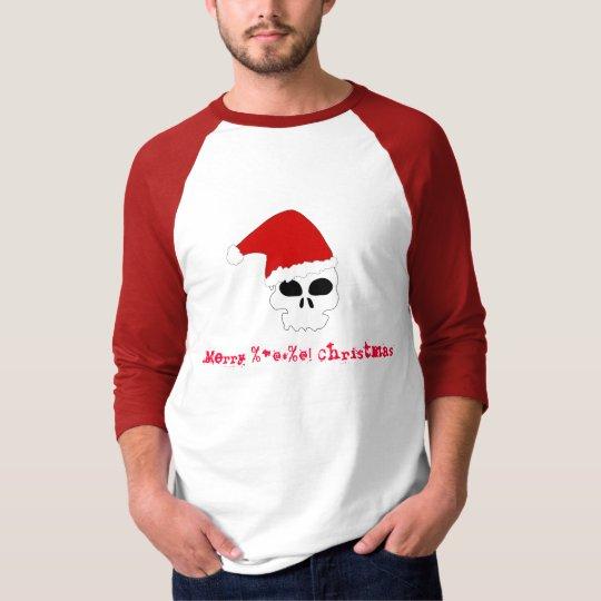 Merry Christmas Skull fans T-Shirt