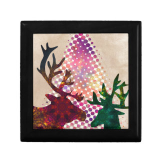 merry christmas small square gift box