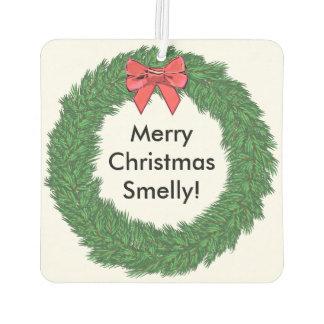 Merry Christmas Smelly Car Air Freshener