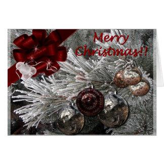 Merry Christmas snowed-in Card