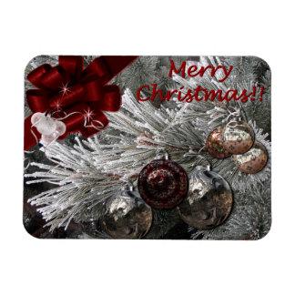 Merry Christmas snowed-in Premium Magnet
