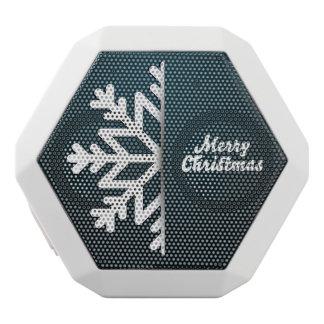 Merry Christmas Snowflake Blue