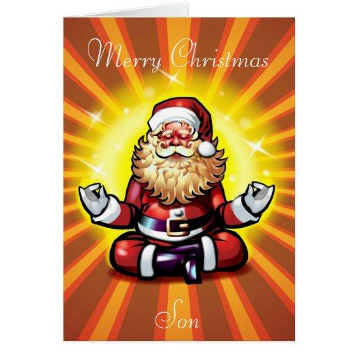 Merry Christmas Son Greeting Card