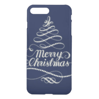 Merry Christmas Sparkle iPhone 8 Plus/7 Plus Case