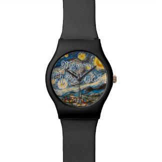 Merry Christmas Starry Night Watch