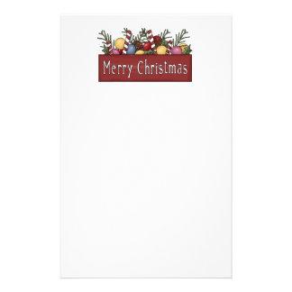 Merry Christmas Stationary Stationery