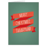 Merry Christmas SugarPlum Card